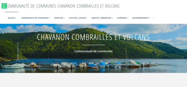 Suite à la fusion des Communautés de Communes, découvrez le nouveau site web de la Communauté de Communes Chavanon Combrailles et Volcans ! www.ccvcommunaute.fr