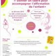 Le 26 mars 2015, Le Relais d'Assistantes Maternelles organise une soirée débat discussion «Donner un cadre pour accompagner l'affirmation de l'enfant». Animée par une professionnelle, cette soirée est ouverte aux […]