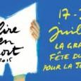 A l'occasion de la fête du livre jeunesse et de l'opération «Lire en Short», le Relais d'Assistante Maternelle organise un spectacle lecture le mardi 21 juillet 2015 à 18H30. Tony […]